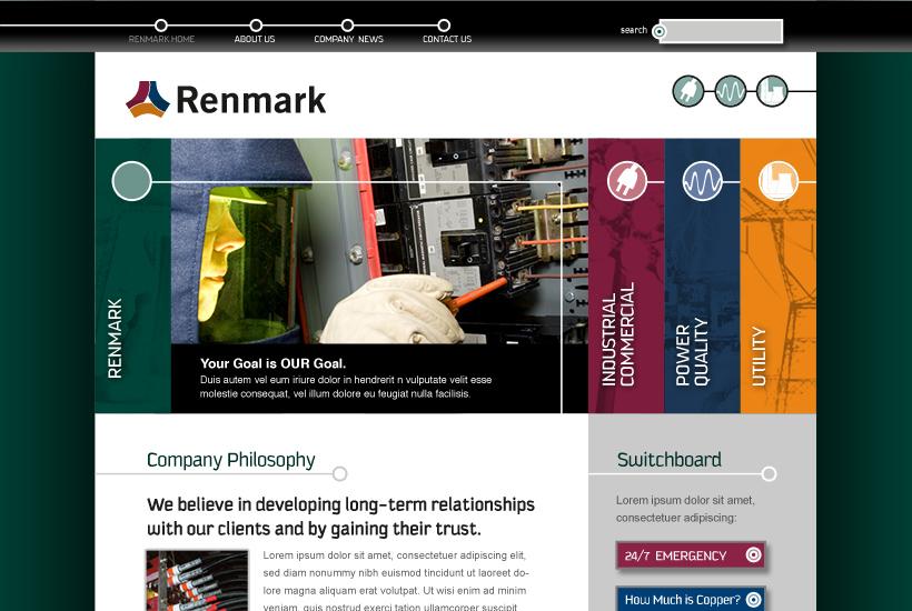 Renmark website thumbnail